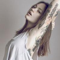纹身头像女生个性头像