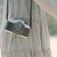 唯美相机头像图片