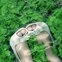 唯美绿色系清新头像