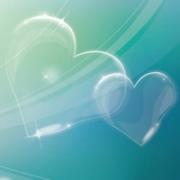 两颗爱心头像 浪漫有创意的爱心图片头像