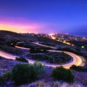 唯美意境夜色头像 好看的城市唯美夜色头像图片
