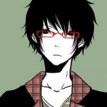 qq动漫头像男生戴眼镜图片
