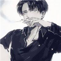 动漫男抽烟图片头像