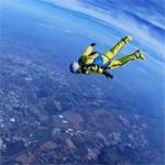 跳伞头像图片大全 美丽天空中跳伞头像图片
