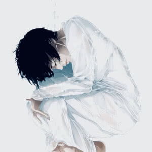 qq头像寂寞孤单男生