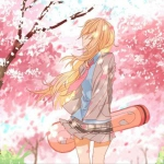 梦幻樱花头像女生 高清好看的梦幻唯美樱花女生图片头像