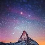 qq头像风景星空 好看的qq头像风景唯美星空