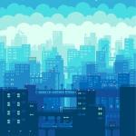 漫画城市头像图片