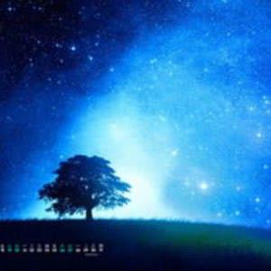 微信头像星空图片