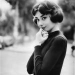 奥黛丽赫本微信头像 美丽气质唯美的赫本微信头像图片