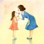 母女头像图片大全 高清好看妈妈和女儿的图片头像