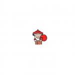 徐锦江版圣诞老人的小头像 高清超萌的徐锦江版圣诞老人表情包头