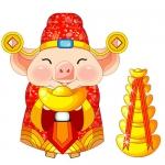猪年头像图片大全 高清猪年本历年的属猪旺财运的微信头像