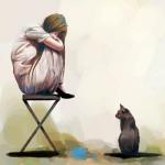 孤独动漫头像图片大全 高清寂寞孤独动漫头像一个人的时候