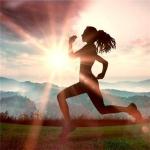 向着阳光奔跑的图片头像 唯美早晨向阳光奔跑的图片头像