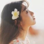 少女怀春头像图片 女孩恋爱中最开心的时候