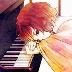心酸伤感钢琴男生漫画头像图片