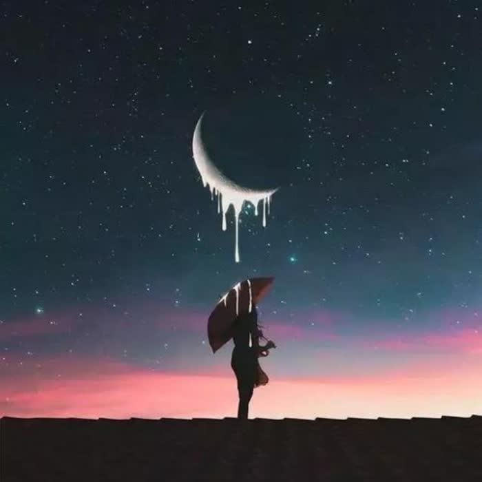 伤感寂寞夜晚头像图片