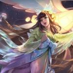 游戏女神头像图片