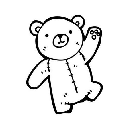 泰迪熊卡通图片头像