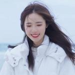 冬季甜美女生头像图片