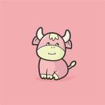 牛头像 高清可爱超萌适合做头像的牛头像图片