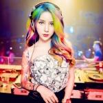 彩发头像DJ女生头像图片