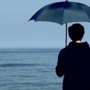 意境伤感男生孤单背影头像 难忘的不止是一个背影