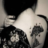 纹身头像女生社会人