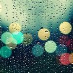 微信下雨头像,唯美下雨头像伤感图片
