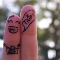 微信头像手指图片