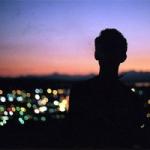 一个人孤独背影头像,高清有意境一个人的背影凄凉图片头像
