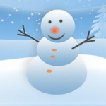微信头像雪人高清,唯美的可爱雪人微信头像图片