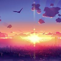 微信天空头像唯美 好看的风景唯美阳光天空头像图片