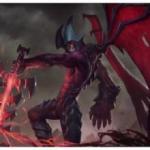 lol剑魔头像图片大全,英雄联盟中暗裔剑魔亚托克斯图片头像