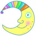 卡通月亮头像图片大全