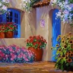 温馨家园图片头像,手绘的田园温馨家园图片头像