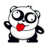 熊猫头像贱萌 贱萌的熊猫头像可爱图片