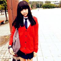 qq非主流女生头像红色图片