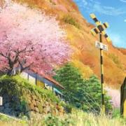 日系唯美动漫风景图片头像