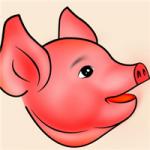 微信头像猪头图片,可爱萌猪头图片头像大全