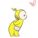 天线宝宝情侣头像 可爱的一对两张天线宝宝头像情侣