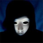 黑白恐怖面具头像图片 诡异恐怖的黑白面具系列图片头像