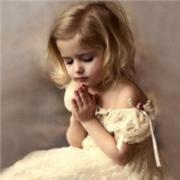 小孩祷告唯美图片头像大全