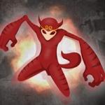 猴子头像霸气 霸气的动漫红色猴子图片头像