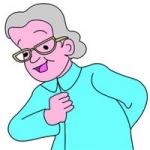 老太太图片头像图片大全