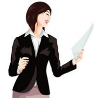 微信职场女生卡通头像 漂亮好看的职场卡通微信头像女生图片