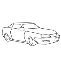 小汽车简笔画头像图片大全