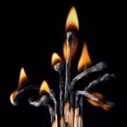 火柴的创意图案qq头像,纯真年代艺术火柴图片头像
