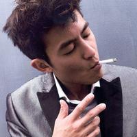 男生抽烟头像